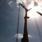 manutenzione impianti eolici | sostituzione rotore e riduttore di una pala