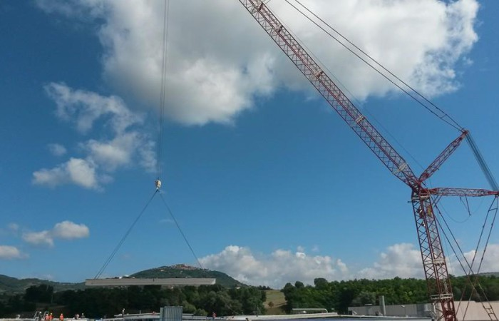 prefabbricati in CAP | sostituzione tetto stabilimento industriale
