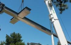 Demag AC80-1 | demolizione struttura metallica a Manduria