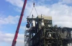 Demag AC 900 MAGIS SPA | demolizione impianto polimeri