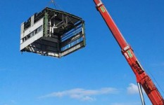AC 900 rimozione moduli da vecchio impianto industriale