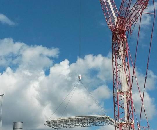 manutenzioni industriali | sostituzione copertura capannoni EMA Morra de Sanctis